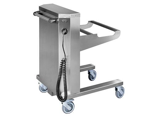 Elektricko-akumulátorový zdvižný vozík